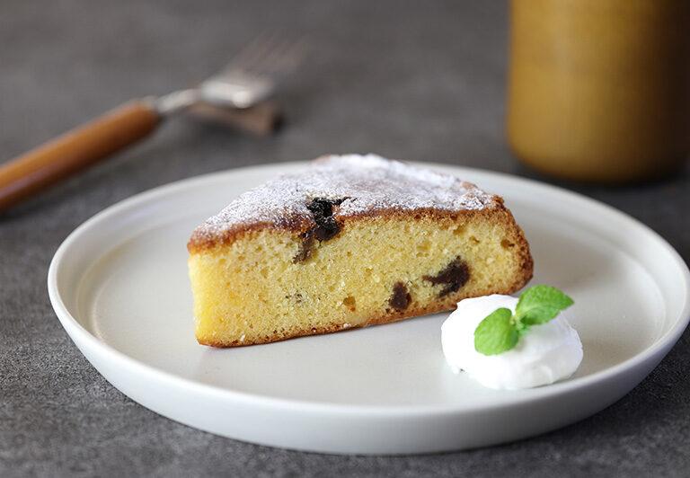 梅花園の手作りケーキ